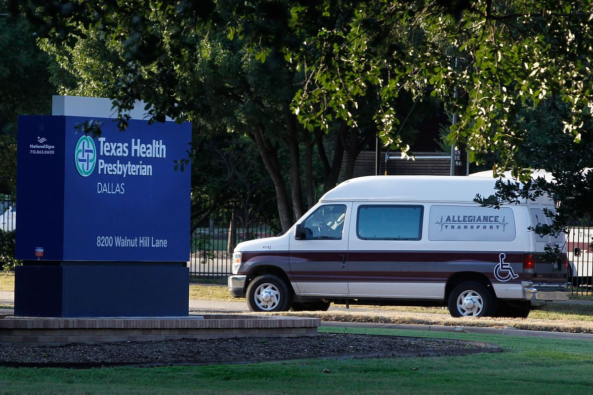 Texas Health Presbyterian Hospital in Dallas is now treating the first case of Ebola diagnosed in the United States.