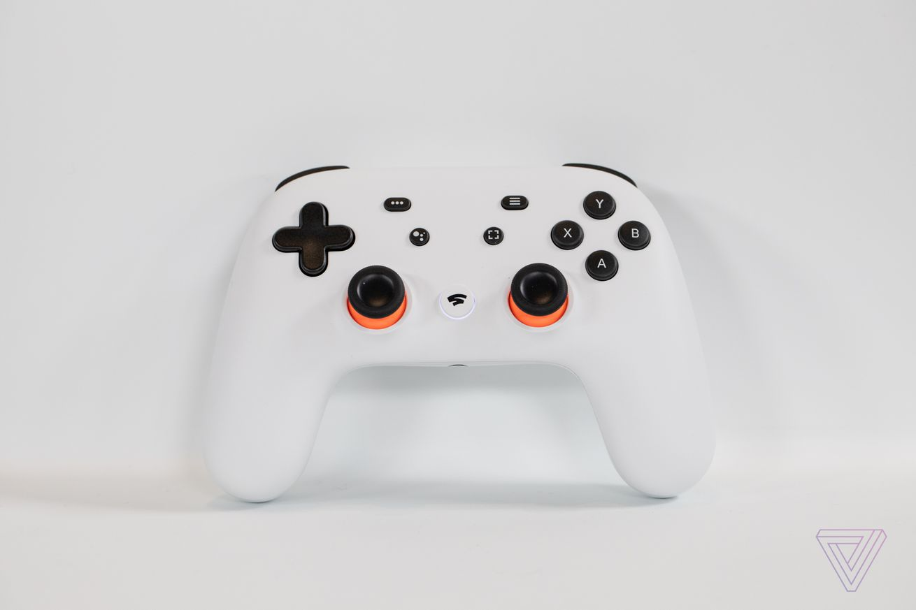 The Google Stadia game controller feels surprisingly great