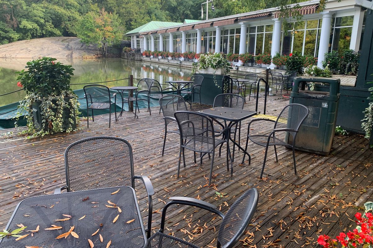 The Loeb Boathouse in Central Park announced it was permanently closing during the coronavirus outbreak, Sept. 30, 2020.