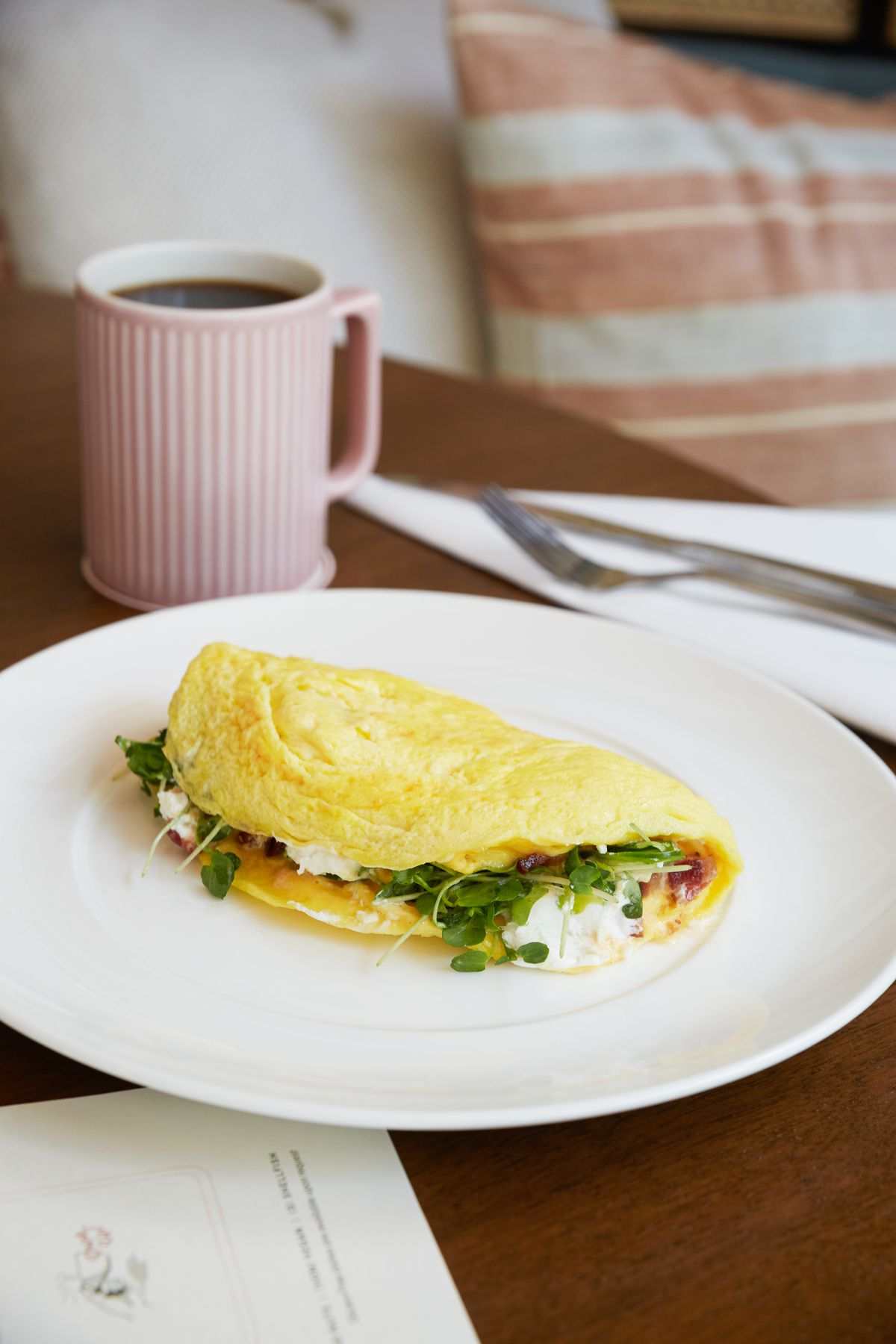 Three egg omelette at Mrs. P's Bar and Kitchen