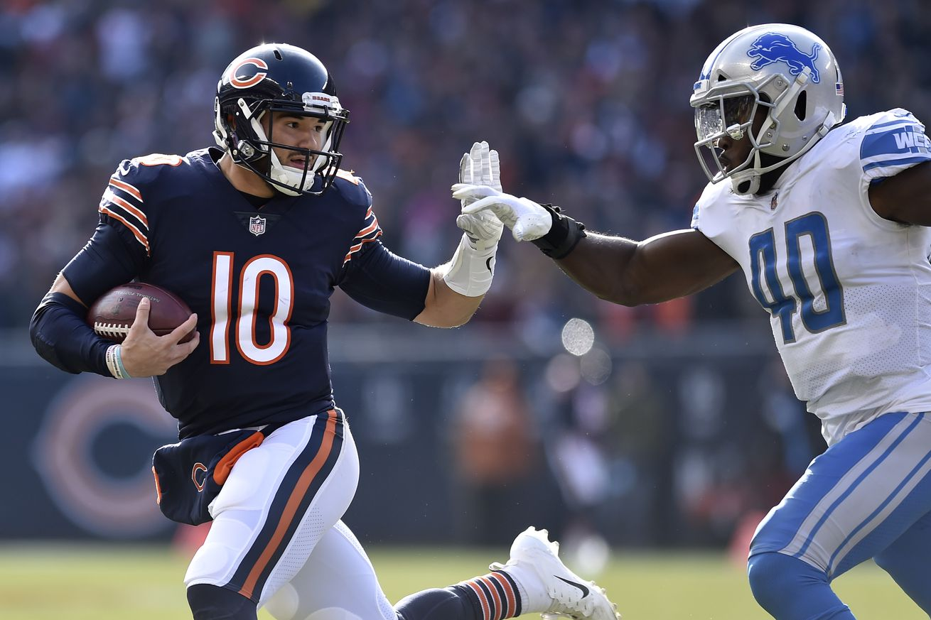 Bears Mitch Trubisky in running for FedEx Air Player of the Week, again