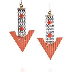 "<a href=""http://www.theoutnet.com/product/331191""><b>Lulu Frost</b> crystal-embellished bead earrings</a>, $94.60 (were $215)"