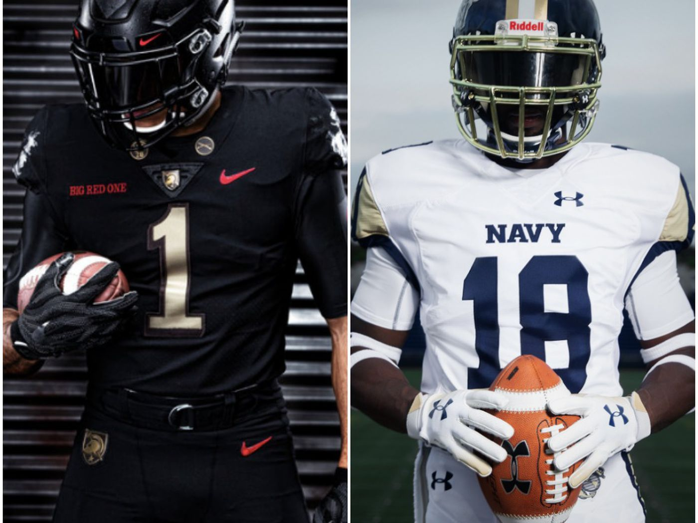 3572e717 Army-Navy uniforms 2018: The stories behind the slick alternate ...