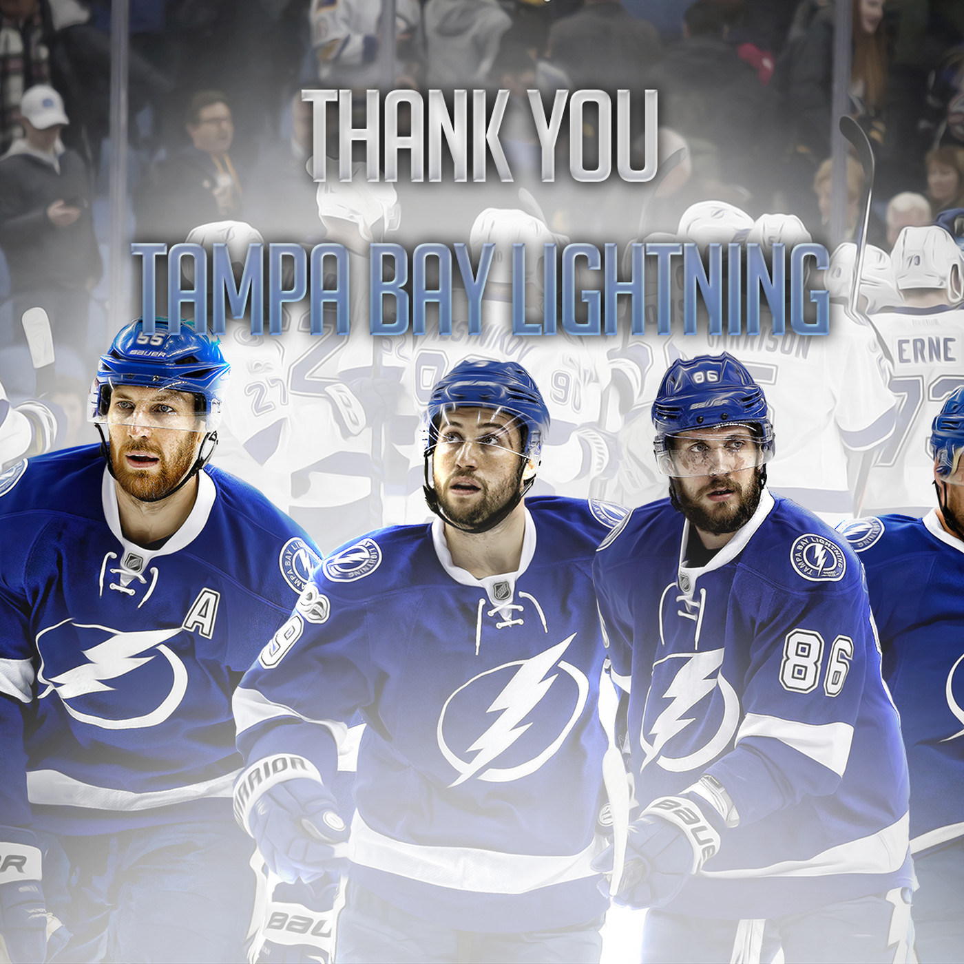 Thank You Tampa Bay Lightning Wallpaper Download Raw Charge