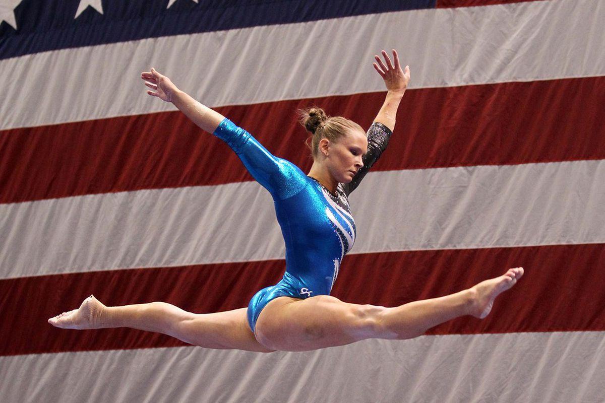 Bridget Sloan leads the way for the Florida Gators
