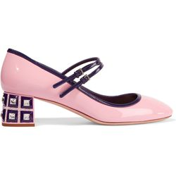 A suggested shake-up for Blossom: Mary Janes in her own signature pink.