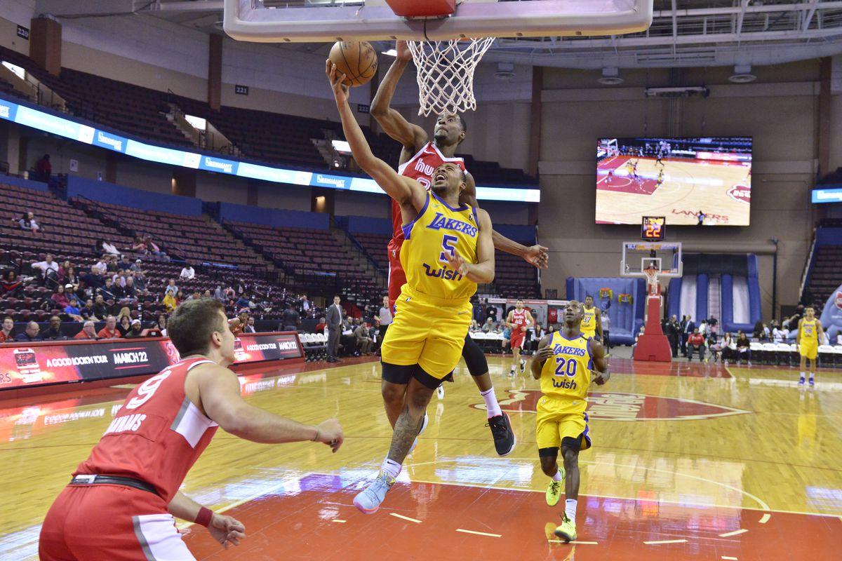 South Bay Lakers v Memphis Hustle