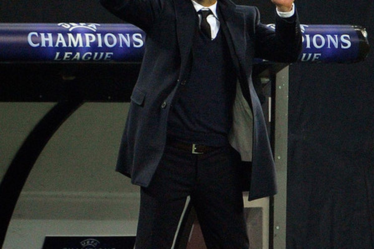 Guardiola would make a decent mime...