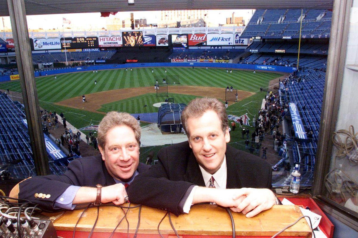MSG Radio Announcers John Sterling and Michael Kay