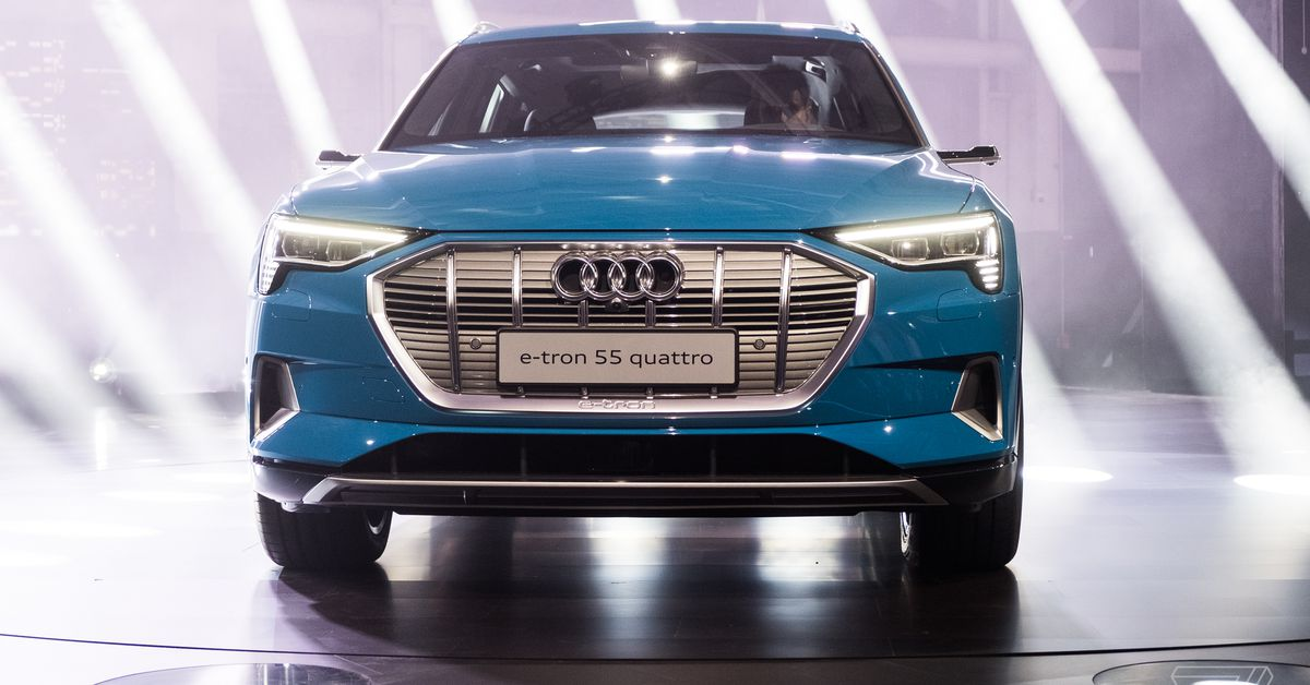 photo of Audi's first electric car reportedly delayed again because of a battery shortage image