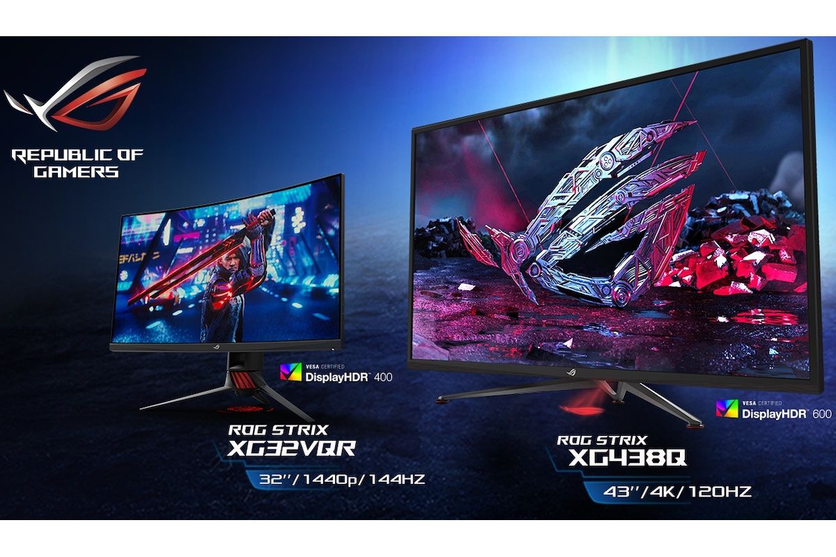 Asus Announces Three Giant Hdr Gaming Monitors The Verge