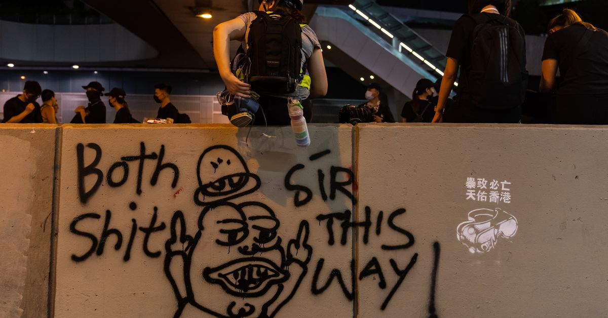 Facebook and Twitter uncover Chinese trolls spreading doubts about Hong Kong protests