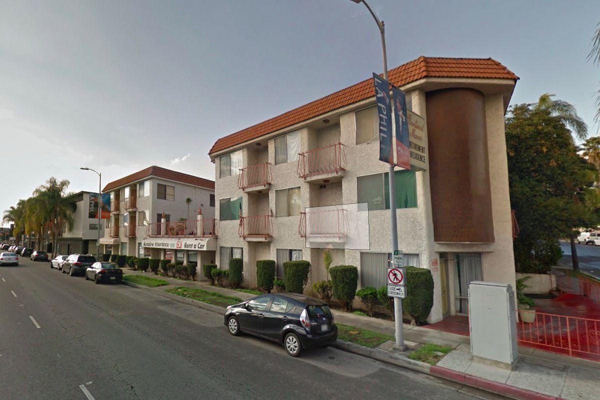 View of senior living community