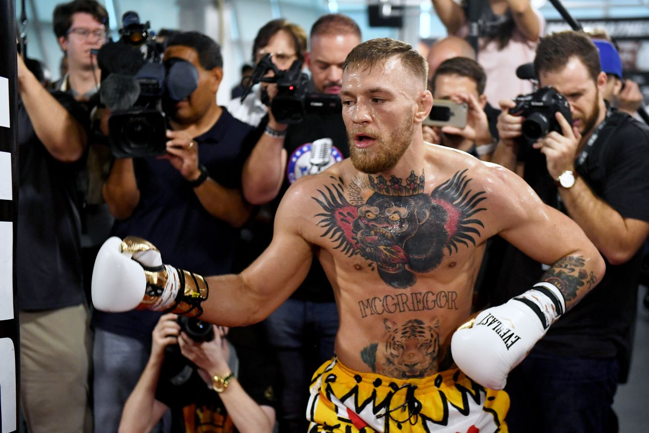 community news, Midnight Mania! McGregor's rubber arms, press conference highlights and reaction