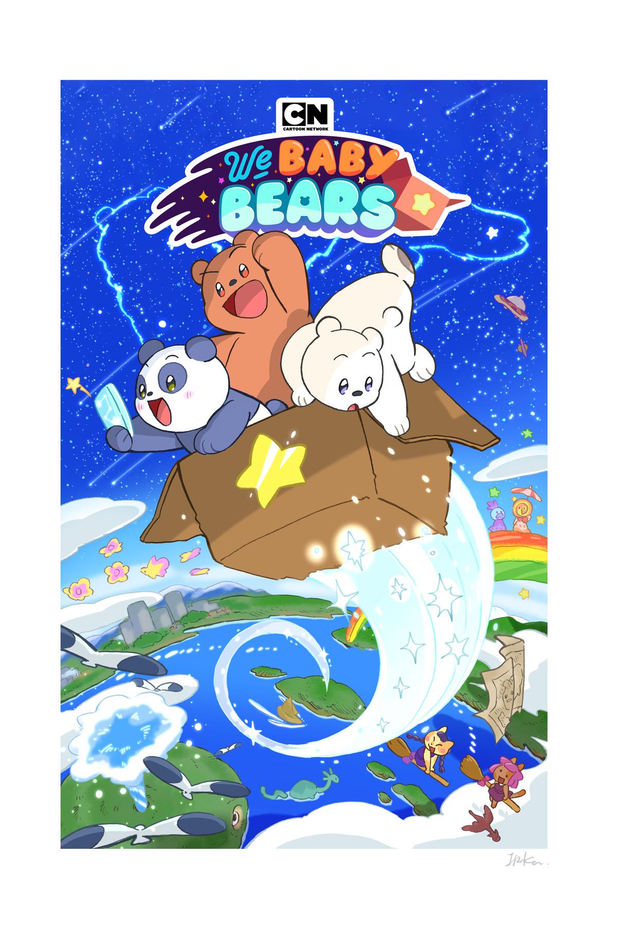 the bare bears as baby bears