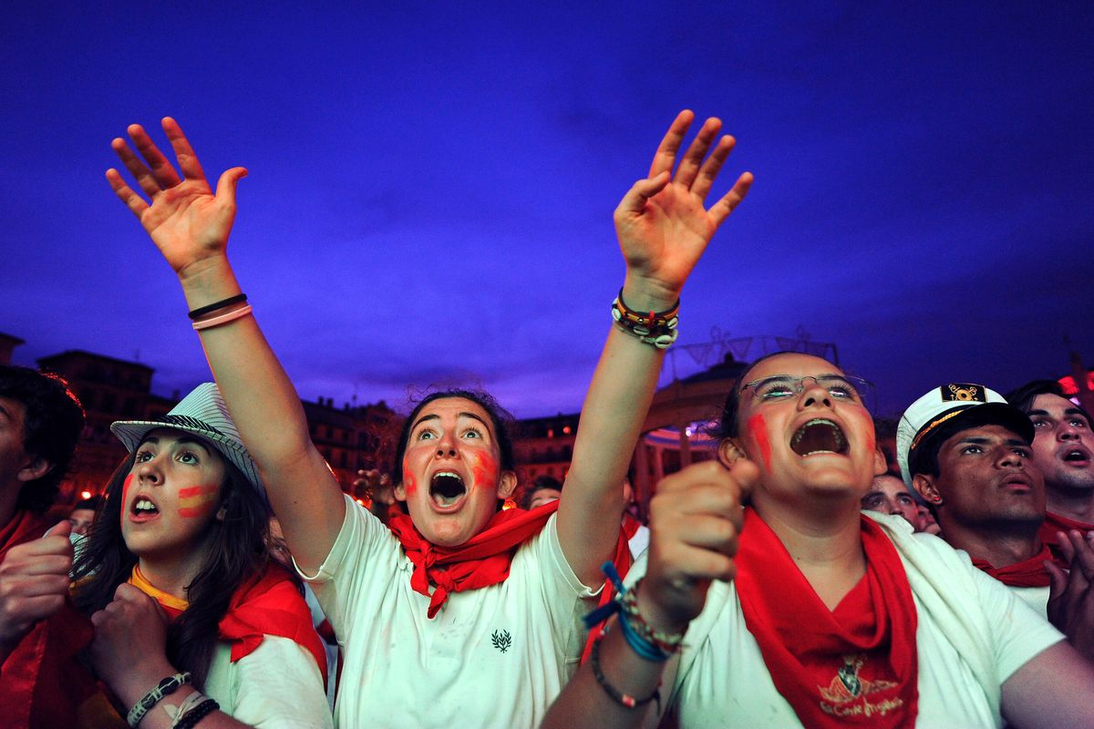 Public Viewing: Germany v Spain - 2010 FIFA World Cup