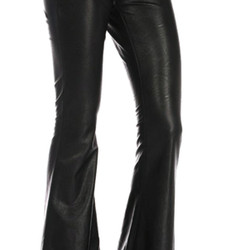 Blank Nyc Vegan leather pull-on bell bottoms, $35