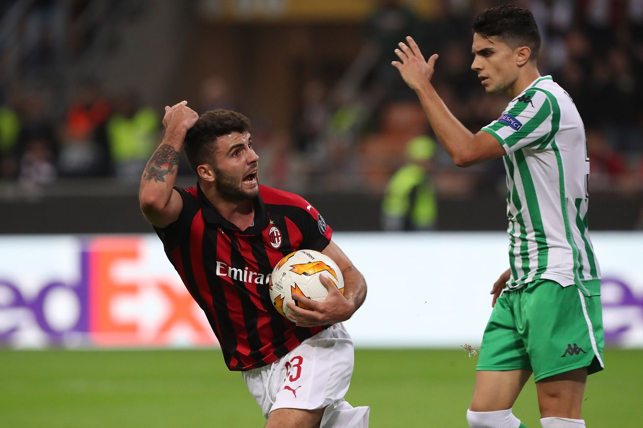 Real Betis v AC Milan: Preview, TV Schedule, & How to Watch or Stream the Europa League Online