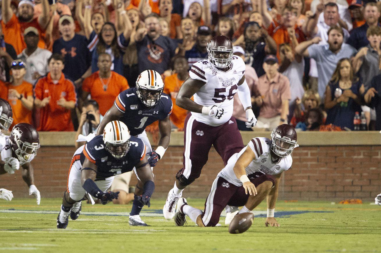 Mississippi State v Auburn