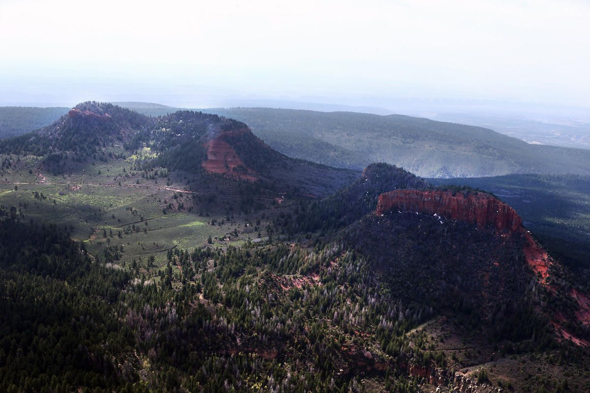 The Bears Ears, of Bears Ears National Monument on Monday, May 8, 2017.