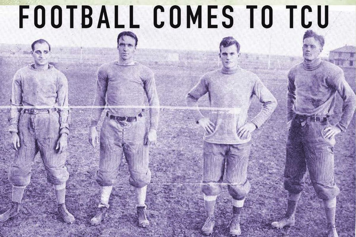 TCU Press publishes FOW founding blogger's history of early TCU football this fall.