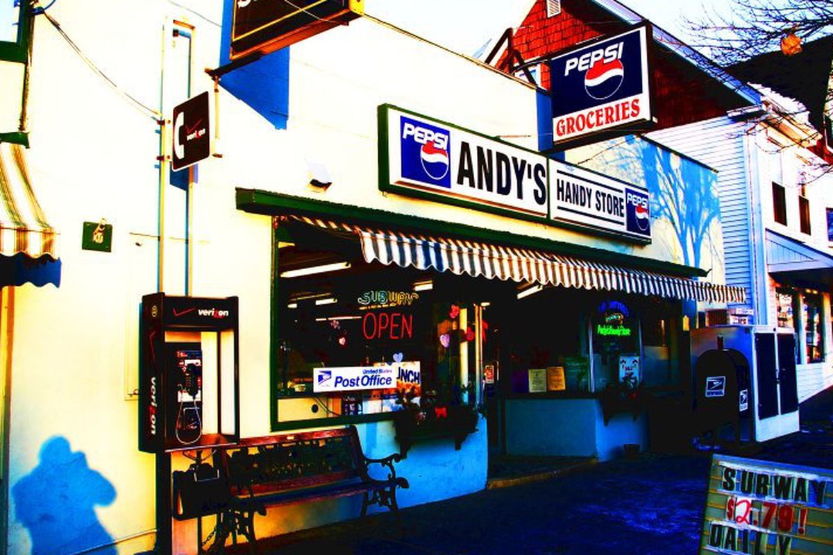 Andy's Handy Store is being renovated by new owners for new businesses, including OTTO.