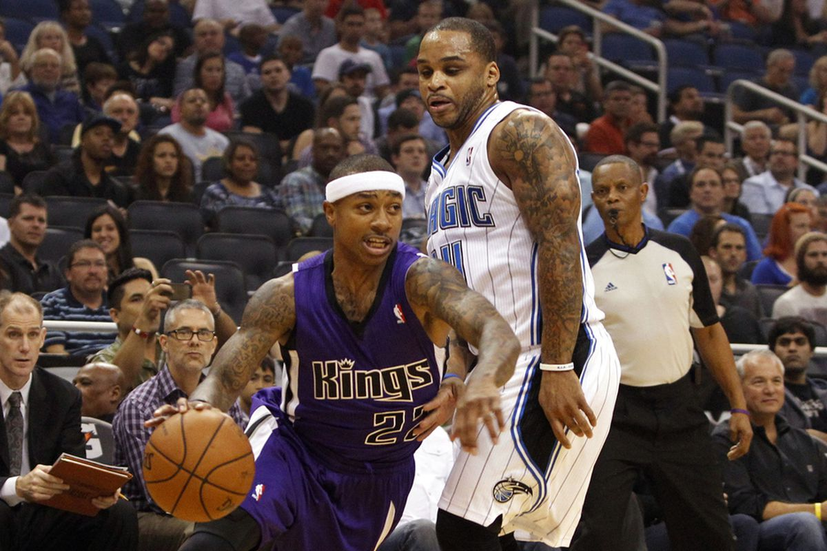 Isaiah Thomas and Jameer Nelson