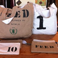 Feed totes and pouches