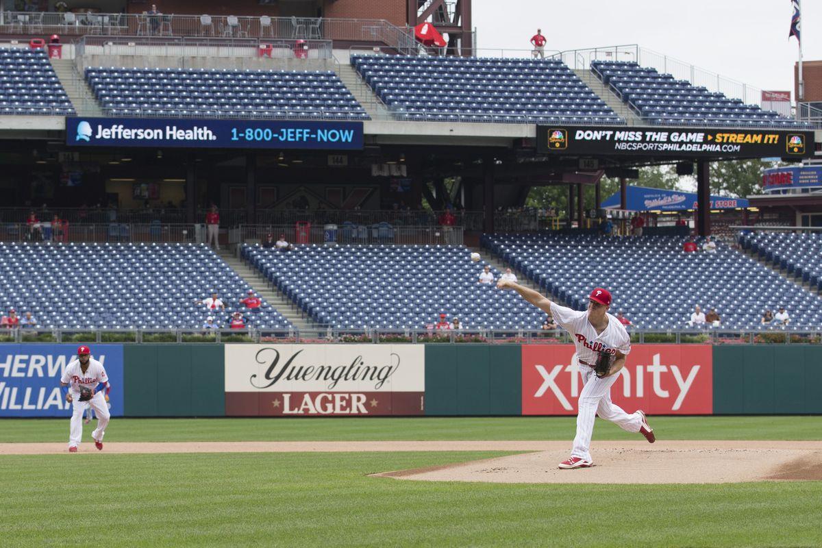 Washington Nationals v Philadelphia Phillies - Game One