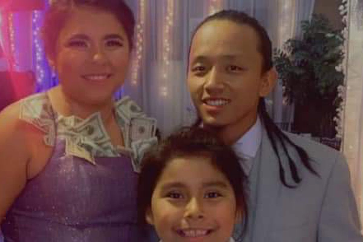 Angelica Dhondup, 26, left, died in a wrong-way crash on I-15 in Salt Lake City on Saturday, just hours after her wedding.