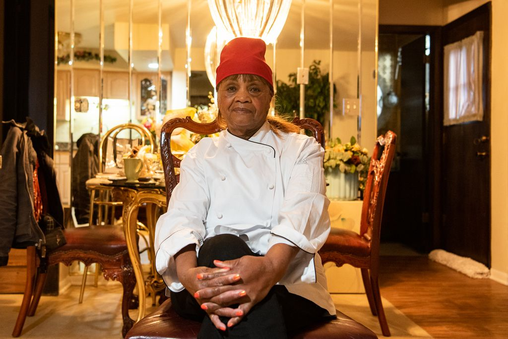 """Josephine """"Mother"""" Wade, owner of Josephine's Southern Cooking in the Chatham neighborhood, Monday, Feb. 3, 2020, in Chicago."""