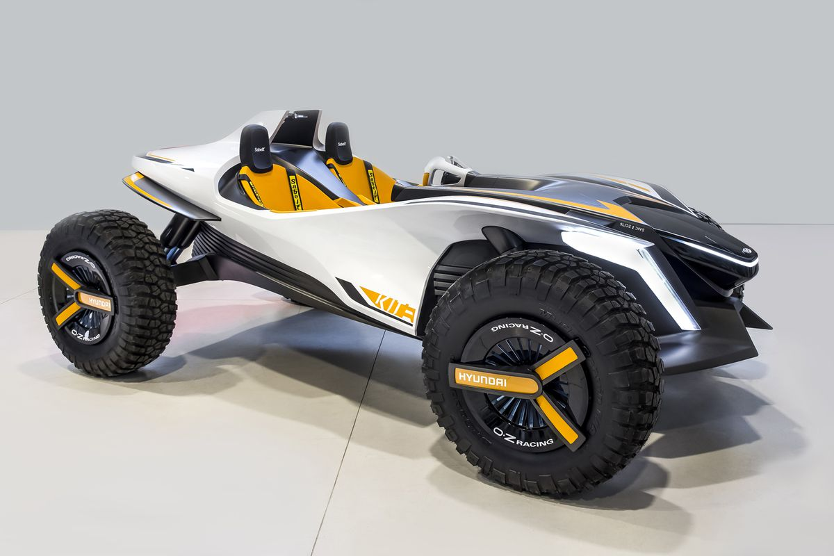 This Hyundai Dune Buggy Concept Also Turns Into A Watercraft