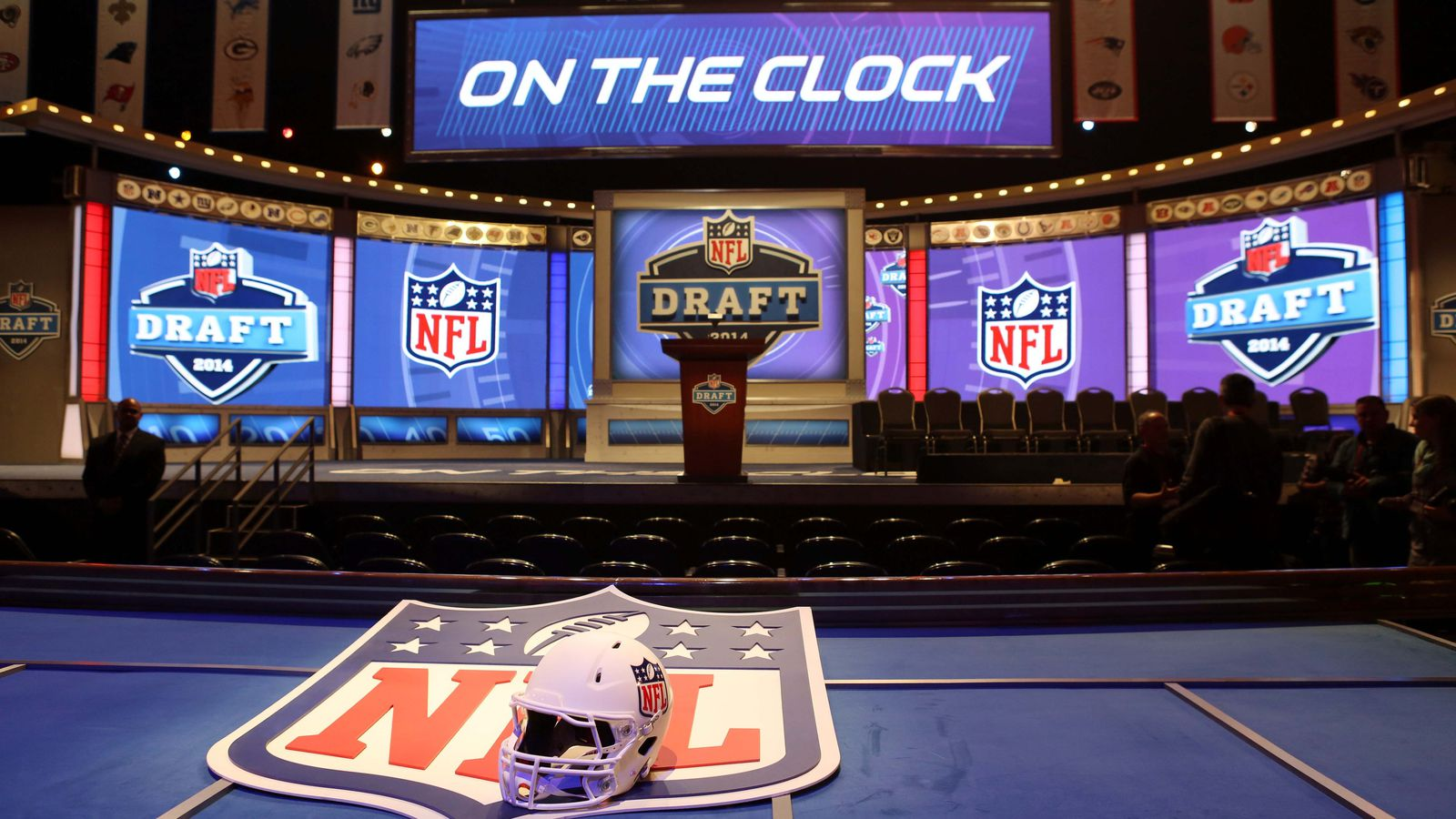 2014 NFL选秀:第一轮获得最高收视率