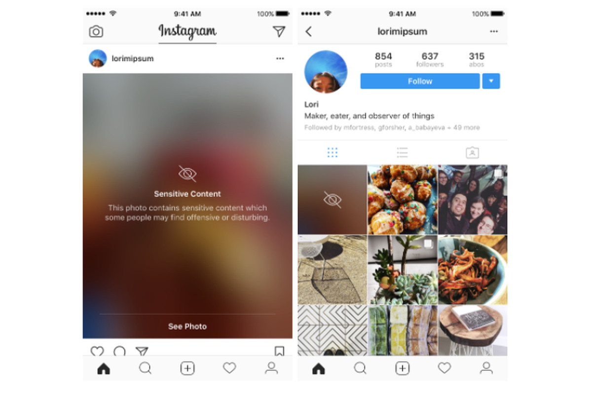 Instagram will begin blurring  sensitive  posts before you can view them f8f376146