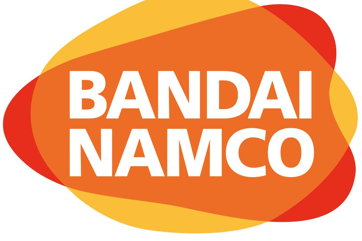 The current, and soon-to-be-changed, Bandai Namco logo