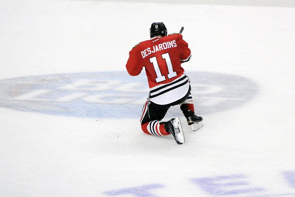 NHL: Arizona Coyotes at Chicago Blackhawks