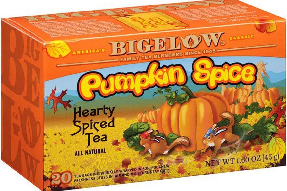 Pumpkin spice is out of control