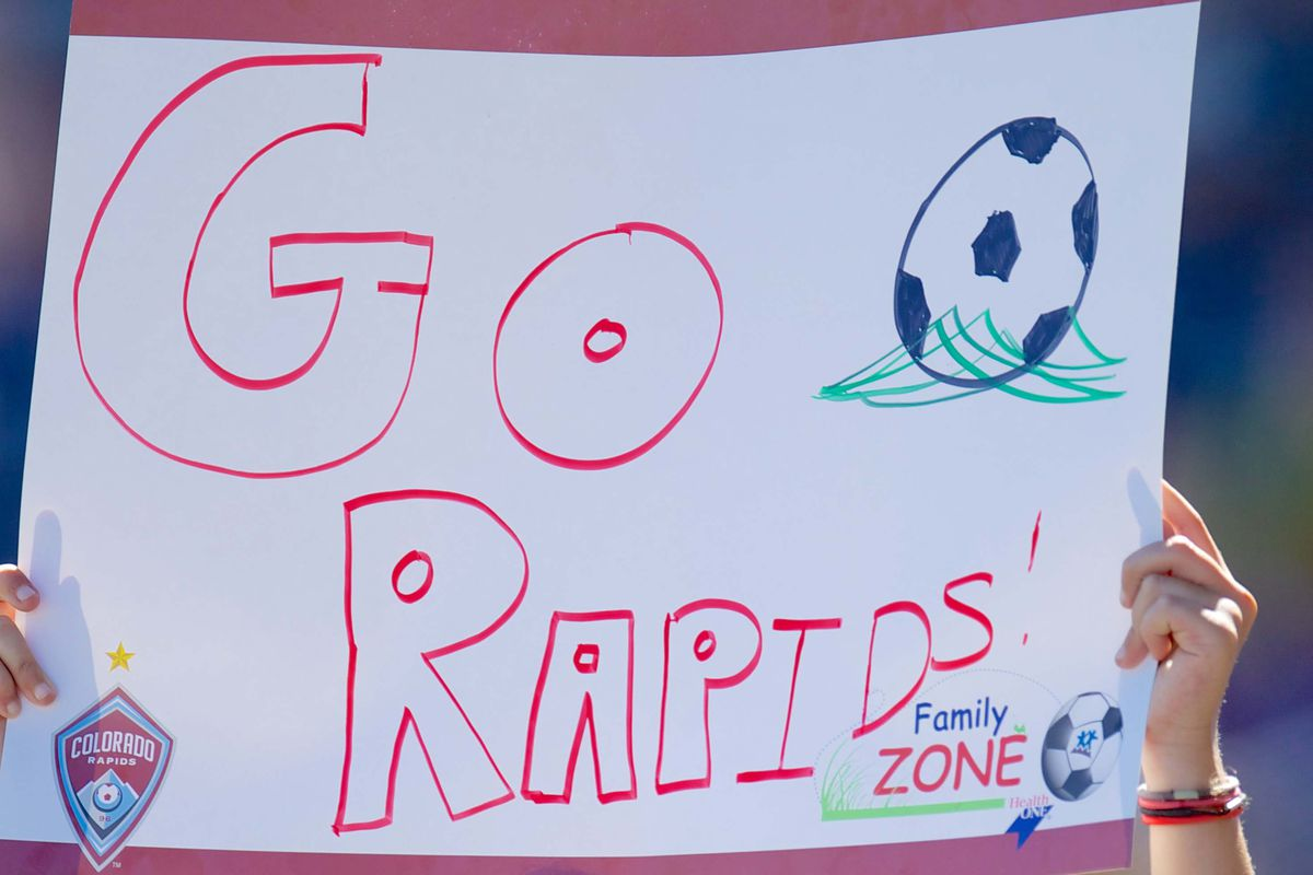 Who cares what others think?  Go Rapids!