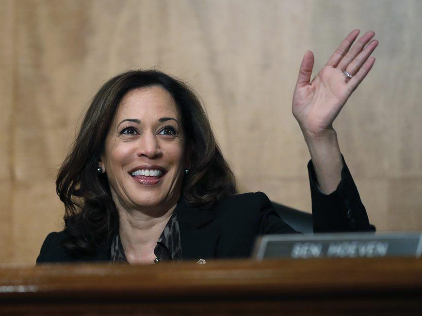 Sen. Kamala Harris, D-Calif. File Photo. (AP Photo/Alex Brandon)