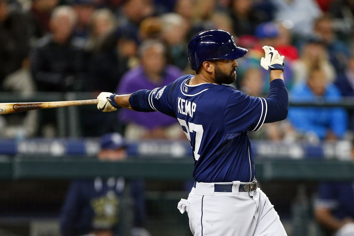 Matt Kemp was one of the headliners that the Padres picked up this offseason. However, he's batting just .264/.295/.371 so far in 2015.