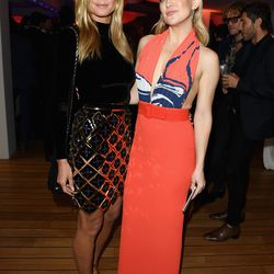 Heidi Klum and Kate Hudson (wearing Solace London) at the Vanity Fair and Chopard after party.