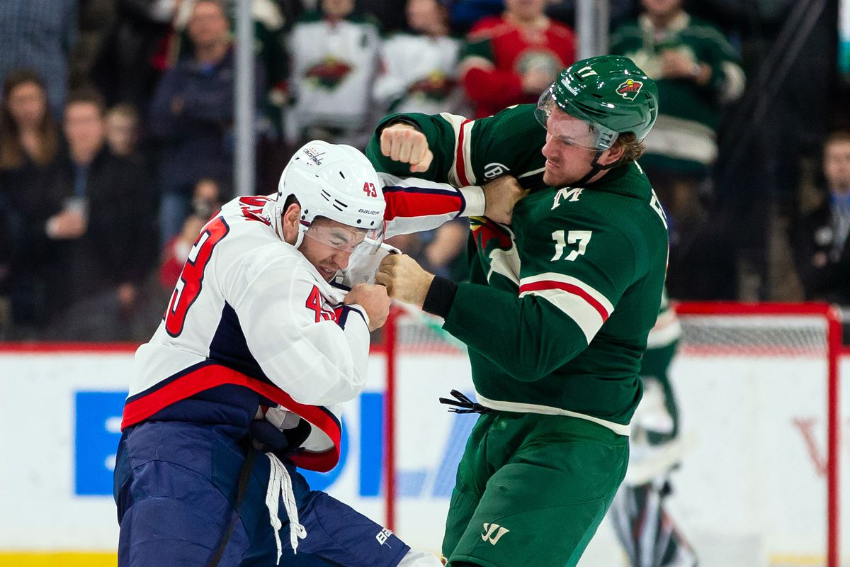 NHL: Washington Capitals at Minnesota Wild