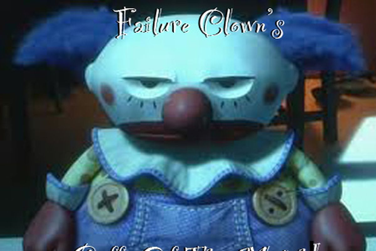 """Ok - it's not """"Gaffe of the Match"""", but it's Failure Clown time"""