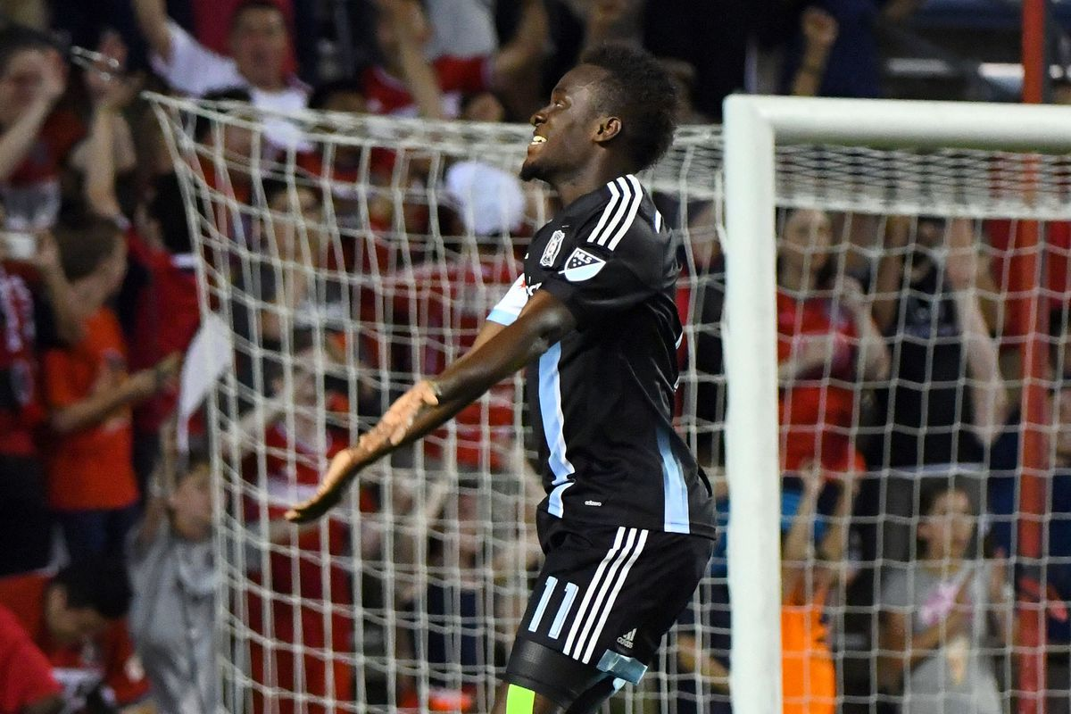 David Accam was once again the man of the hour, scoring the equalizer and game winner Wednesday.