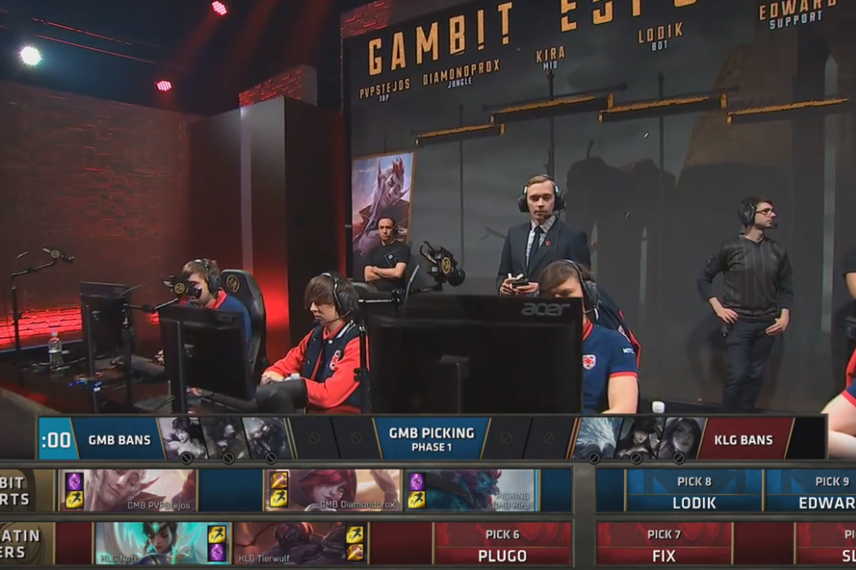 Riot tried a new layout for champion select at MSI and it