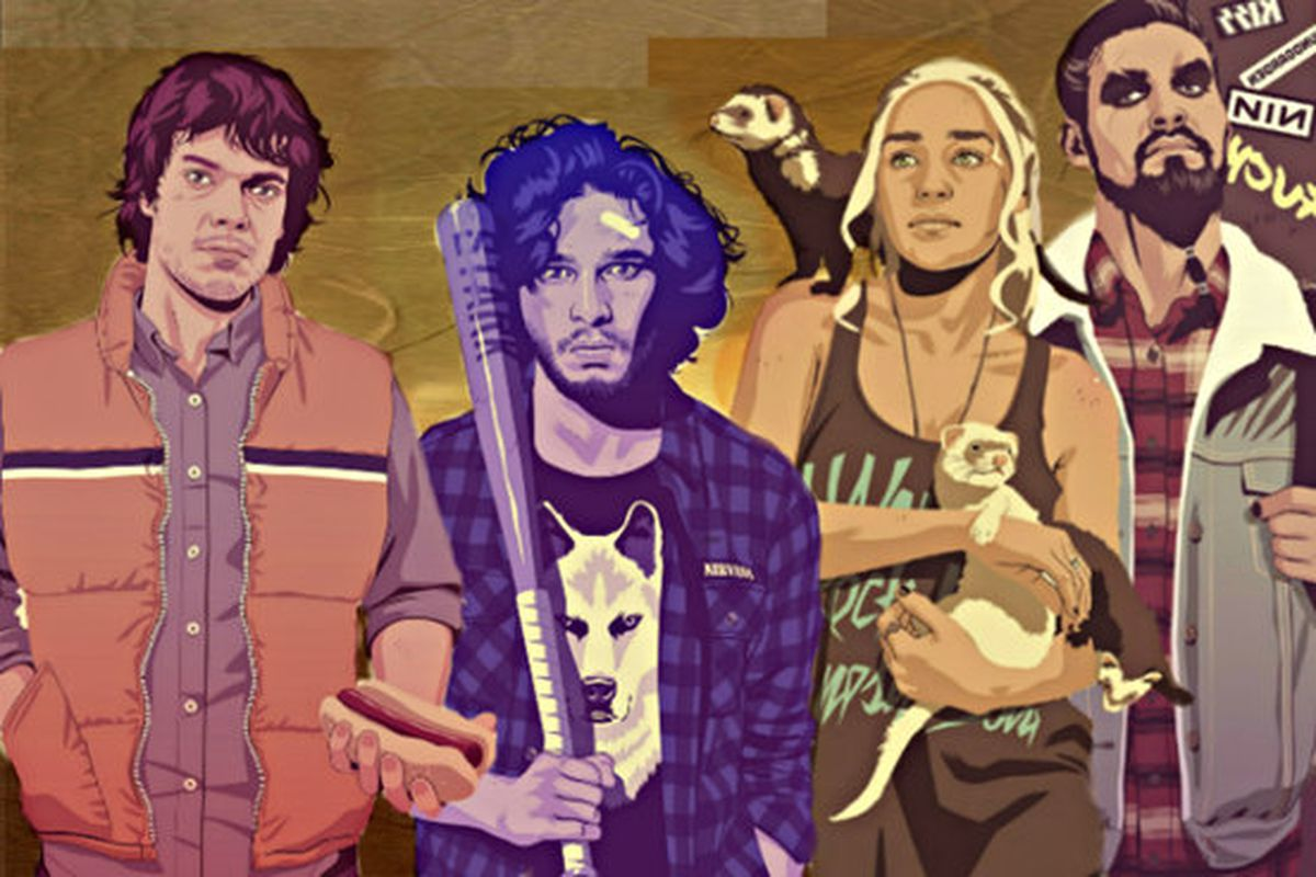 Characters of Game of Thrones reimagined