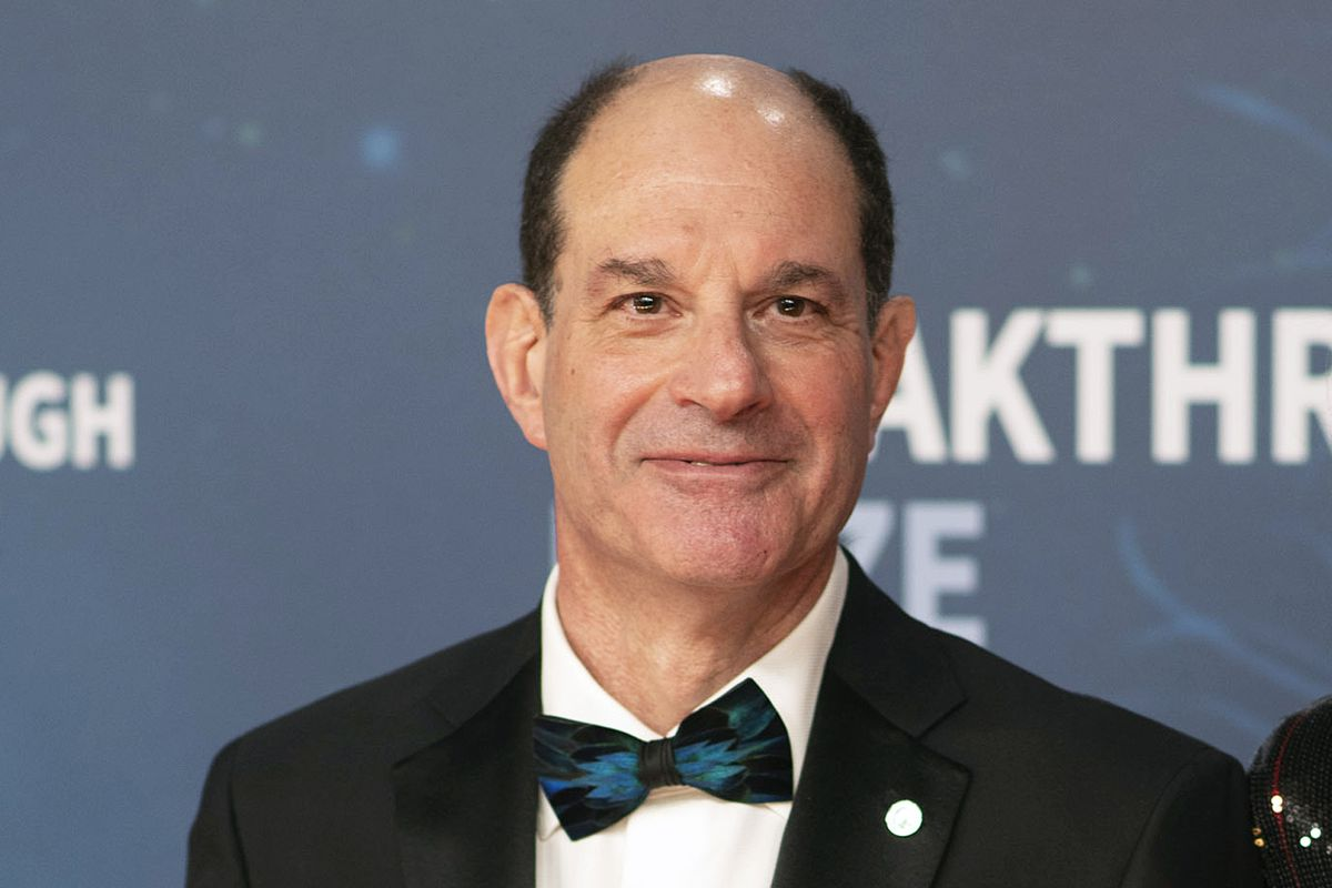 In this Sunday, Nov, 3, 2019 file photo, 2020 Breakthrough Prize in Life Sciences winner David Julius poses at the 8th Annual Breakthrough Prize Ceremony at NASA Ames Research Center on Sunday, Nov. 3, 2019, in Mountain View, Calif.