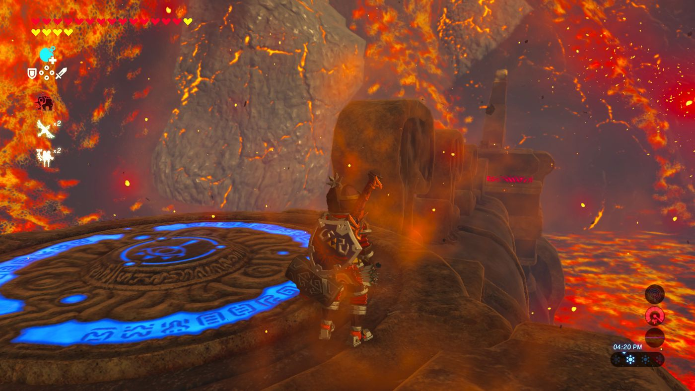 The Legend of Zelda: Breath of the Wild - 'Divine Beast Vah Rudania
