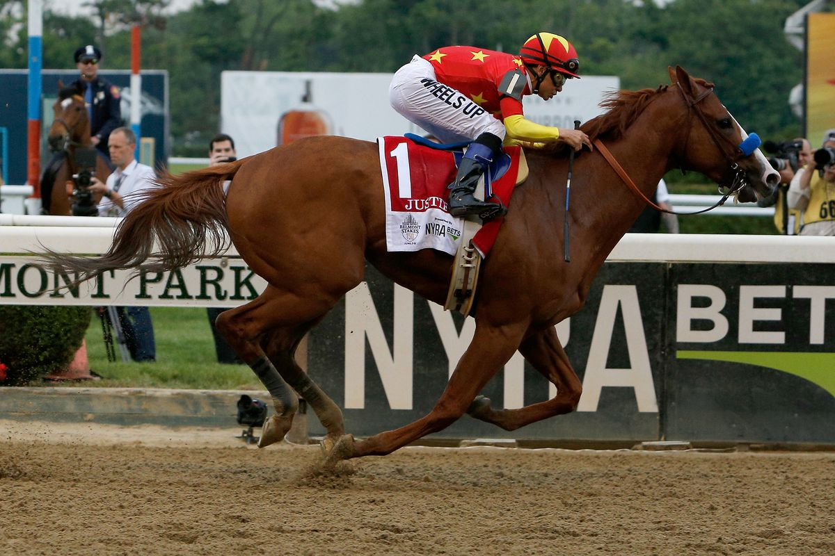 3cc1ca44b96 Belmont Stakes 2018 results: Justify wins the Triple Crown ...