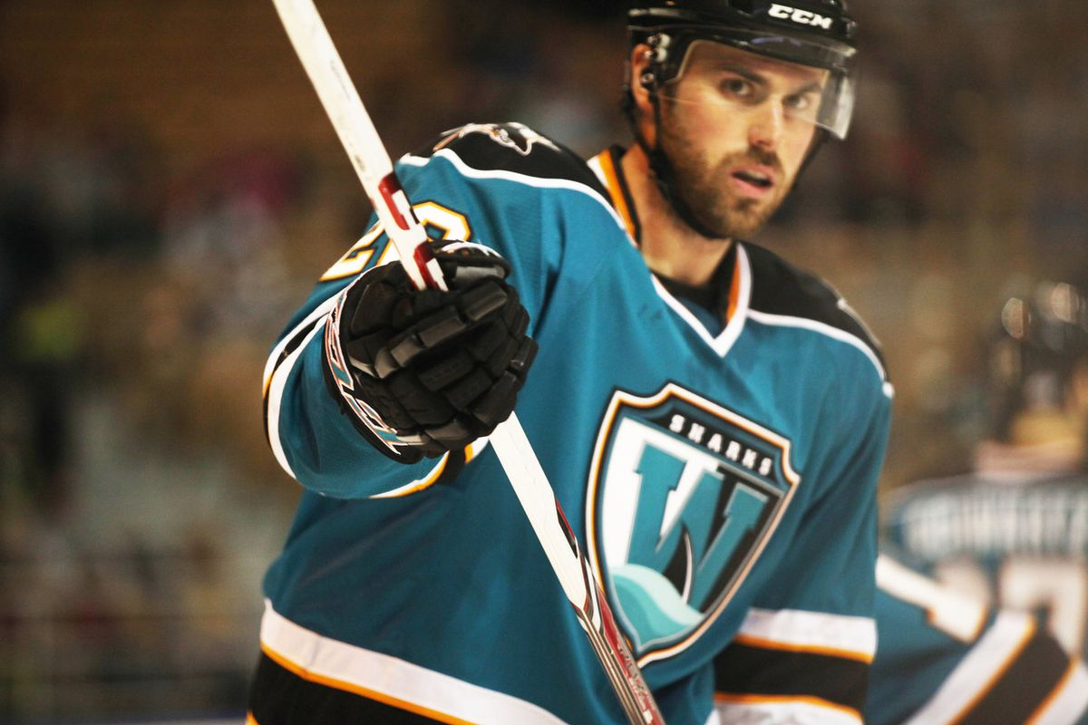 Worcester Sharks forward Dan DaSilva tied Mike Iggulden and Riley Armstrong for the franchise lead in goals with 59 Sunday afternoon at the Dunkin Donuts Center.